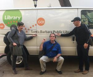 Rob Kershaw, Joe Lambert, and Tatiana Beller, Santa Barbara Workshop