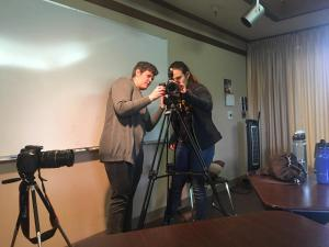 Preparing Camera, Mendoncino County Workhop